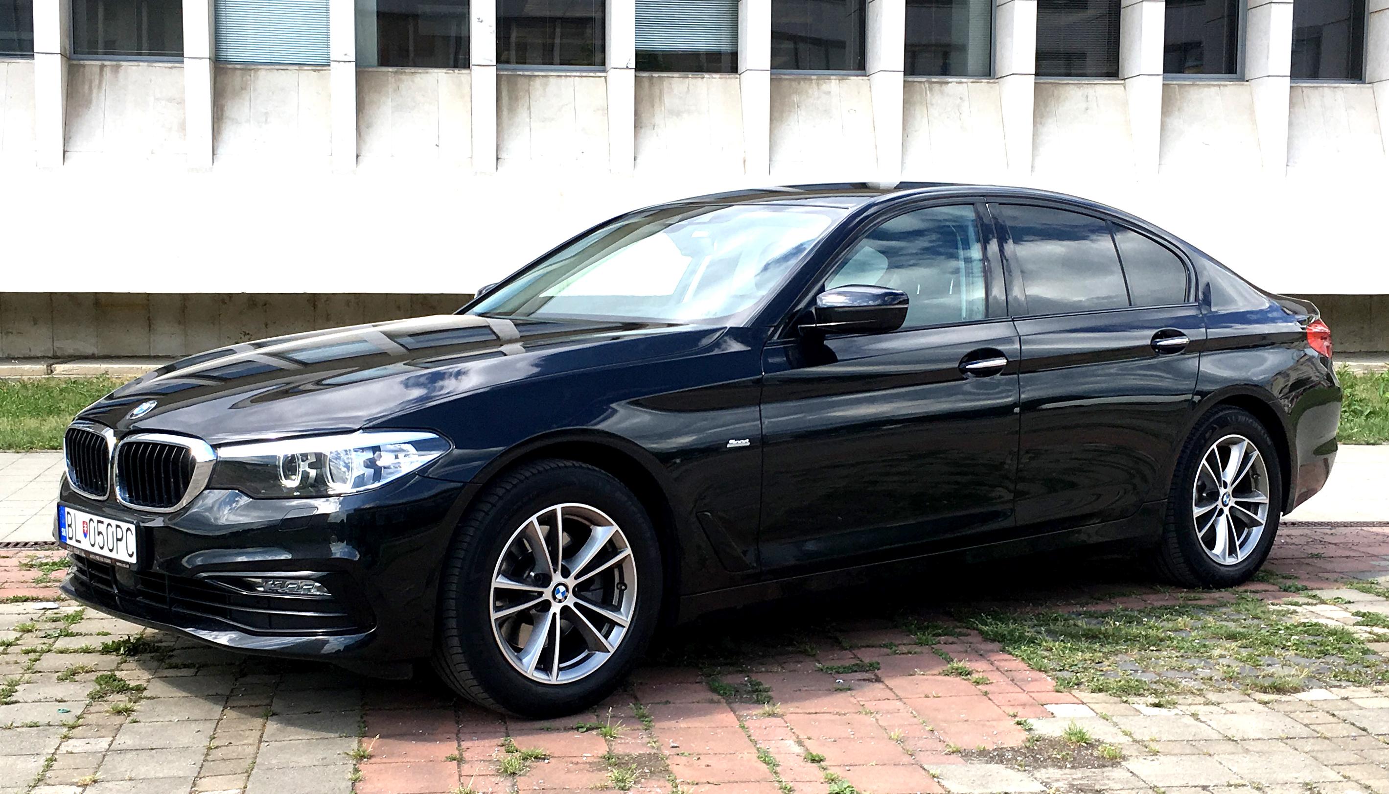 luxury car zilina  Rent a car BMW 520 d xDrive Limousine SportLine 2017 AT NEW - Rai ...