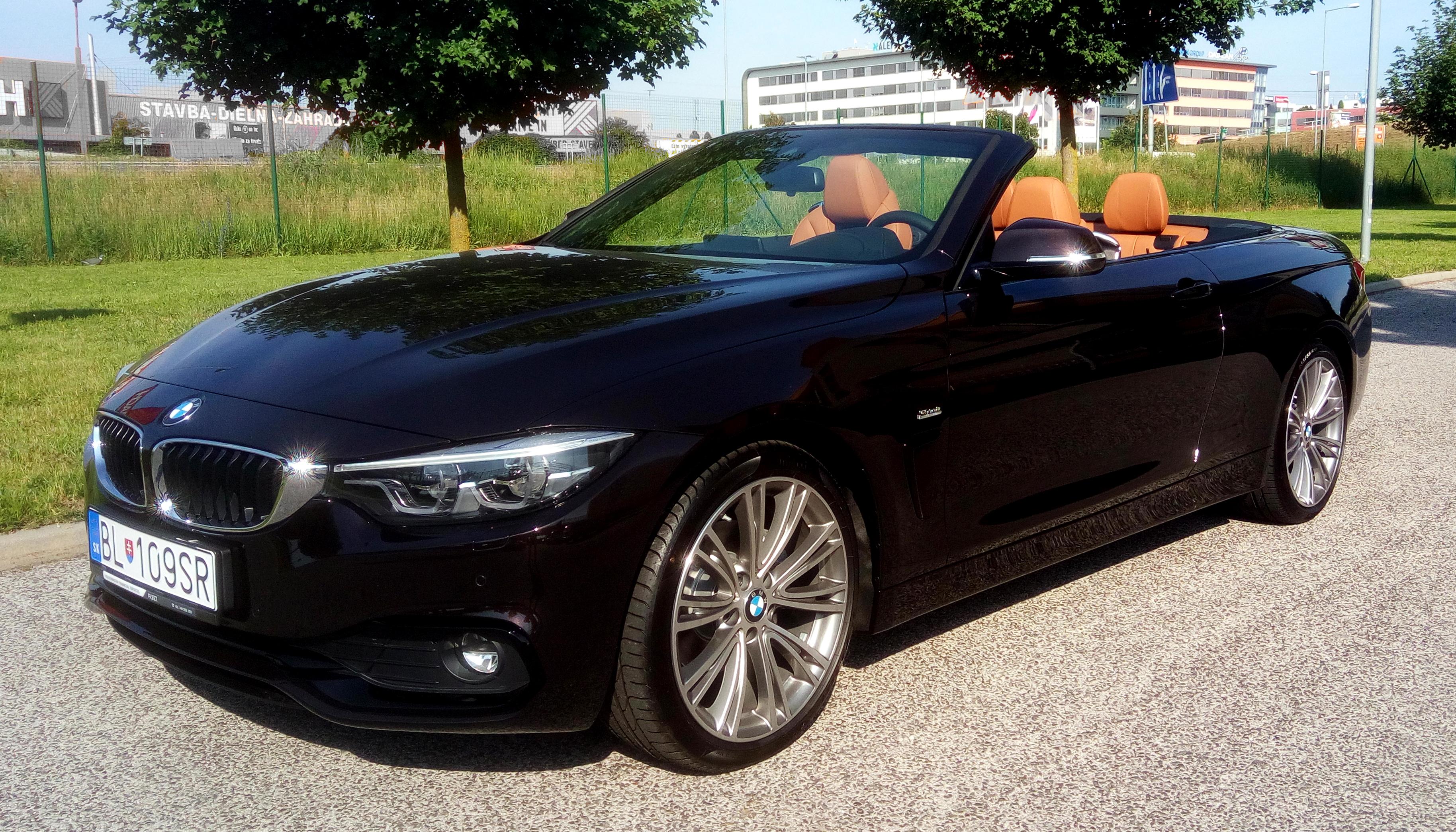 luxury car zilina  Rent a cabriolet BMW 420d Cabrio Sportline Luxury Edition AT 2018 ...