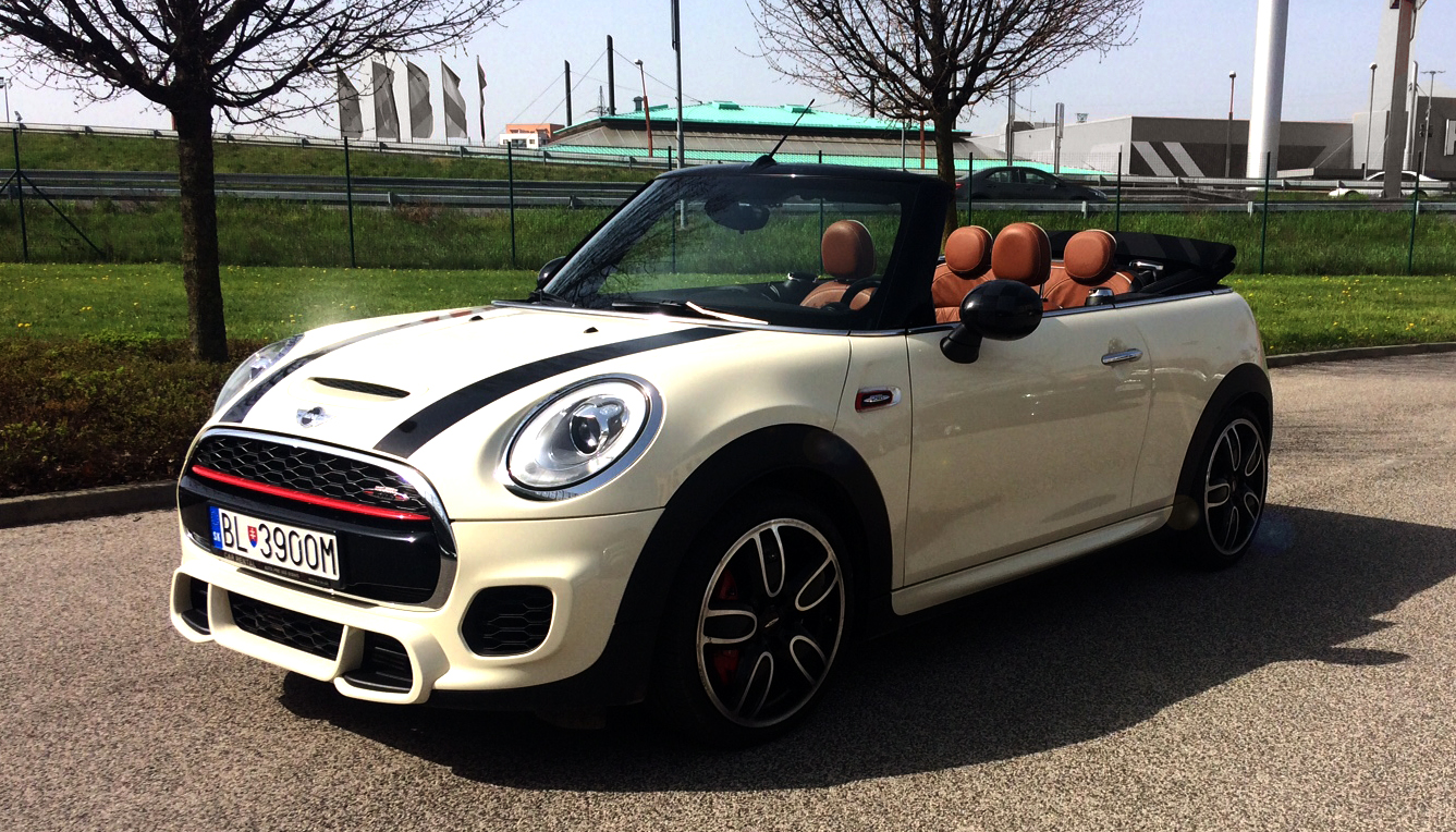 rent a cabriolet mini john cooper works cabrio 2017. Black Bedroom Furniture Sets. Home Design Ideas