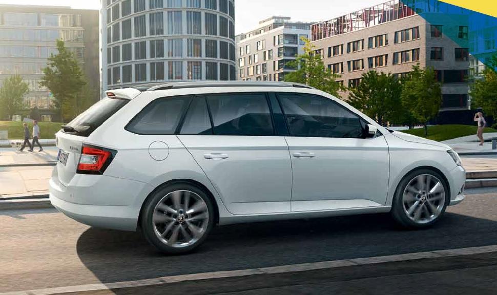 Rent a car Škoda Fabia Combi Style 1,4 TDi NEW MODEL - Rai Internacional