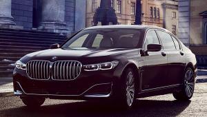 BMW radu 7 na prenájom