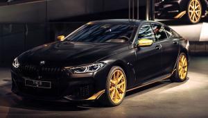 BMW M8 Golden Thunder na prenájom