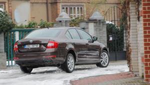 Prenájom auta - Škoda Octavia zo zadu