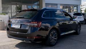 Škoda Superb Combi 3 Facelift na prenájom