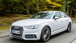 Prenájom auta Audi A4 Basic z boku