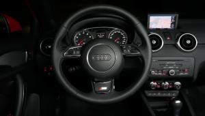 Prenájom auta - AUDI A1 z vnútra