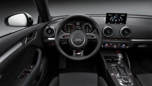 Prenájom auta Audi A3 z vnútra