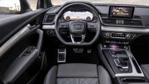 Prenájom auta Audi Q5 z vnútra