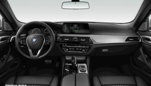 Prenájom auta BMW 520d xDrive interiér