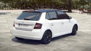 Prenájom auta - Škoda Fabia od zadu