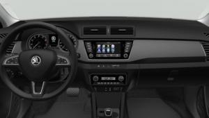 Prenájom auta - Škoda Fabia 1,2 Tsi Joy AT od vnútra