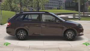 Prenájom auta - Škoda Fabia diesel automat zboku