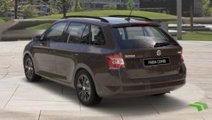 Prenájom auta - Škoda Fabia diesel automat zo zadu