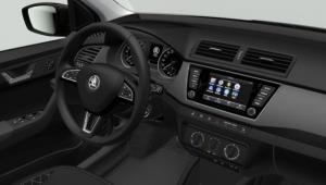 Prenájom auta - Škoda Fabia diesel automat zvnútra