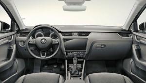 Prenájom auta Škoda Octavia Combi z vnútra
