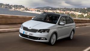 Prenájom auta - Škoda Fabia spredu