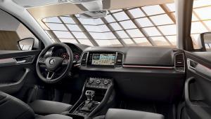Na prenájom - Škoda Karoq Style 2,0 TDI 4x4 - Interior
