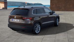 Na prenájom - Škoda Karoq Style 2,0 TDI 4x4 - Back