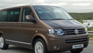 Prenájom auta VW Caravelle spredu