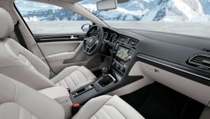 Prenájom auta - VW Golf Variant interiér