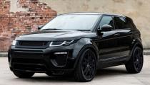 Range Rover Evoque na prenájom s RAI Internacional