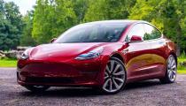 Tesla model 3 na prenájom