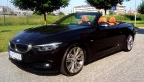 Prenájom kabrioletu BMW 420d Cabrio Sportline Luxury Edition AT 2018