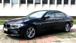 Prenájom auta BMW 520d xDrive zozadu